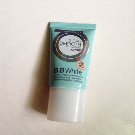 Maybelline Clear Smooth BB White SPF50