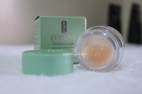 My Clinique Moisture Surge. Photo by Athena Saxena